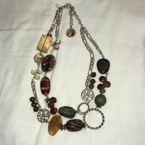 Chico's Two-Strand Chunky Necklace